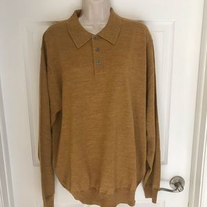 NWT Jos. A. Bank collection merino wool sweater xl